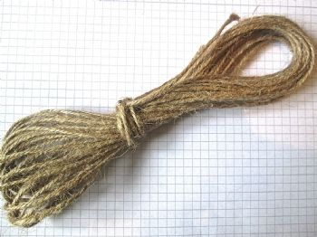 Natural  1.5mm Jute Twine x 20 mts
